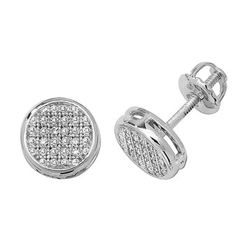 Diamond Rd Pave Set W/G