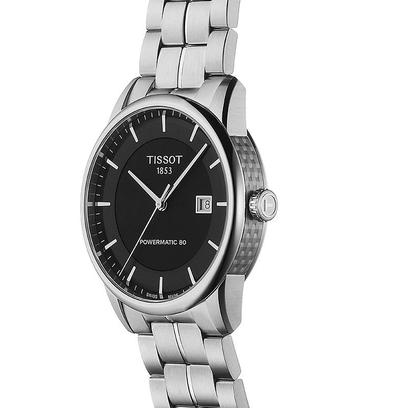Tissot Luxury Automatic Men's Black Watch
