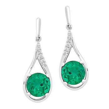 Emerald Earrings-CE4131WEM