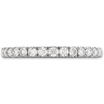 0.42 ctw. HOF Signature Bezel Basket Diamond Band