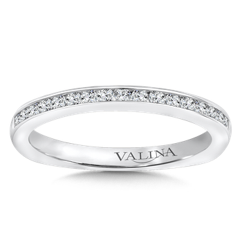 Stackable Wedding Band in 14K White Gold (.23 ct. tw.)