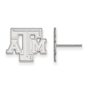 Gold Texas A&M University NCAA Earrings