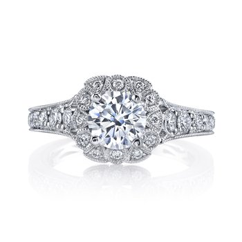 Diamond Engagement Ring 0.69 ctw