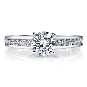 25836TT Diamond Engagement Ring 0.50 ctw