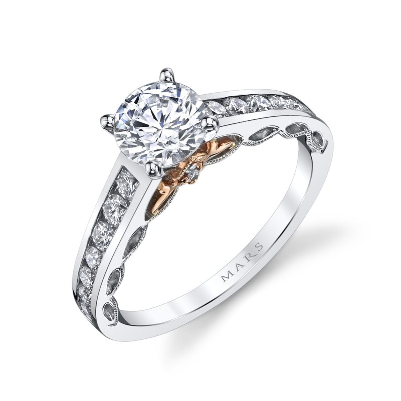 MARS Jewelry - Engagement Ring 25836TT