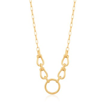 Horseshoe Link Necklace