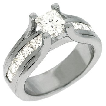 White Gold Enagagement Ring