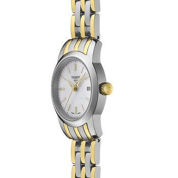 Classic Dream Women's White Mother-Of-Pearl Quartz Steel Watch