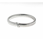 Roberto Coin  #25965 Of 18K White Gold Bangle With Diamond X