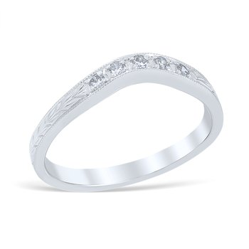 Heart of the Vineyard Wedding Ring