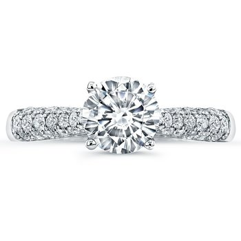 Tatiana Round Engagement Ring