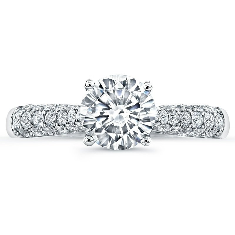 Jeff Cooper Tatiana Round Engagement Ring