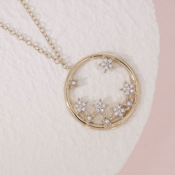 A Star Is Born Gold Necklace
