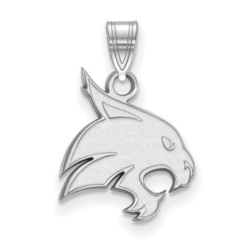 Sterling Silver Texas State University NCAA Pendant