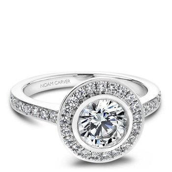 Noam Carver Vintage Engagement Ring B013-01A