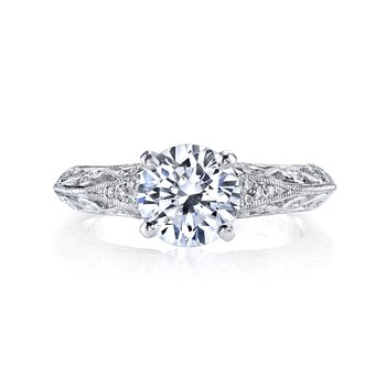 Diamond Engagement Ring, 0.12 ct tw