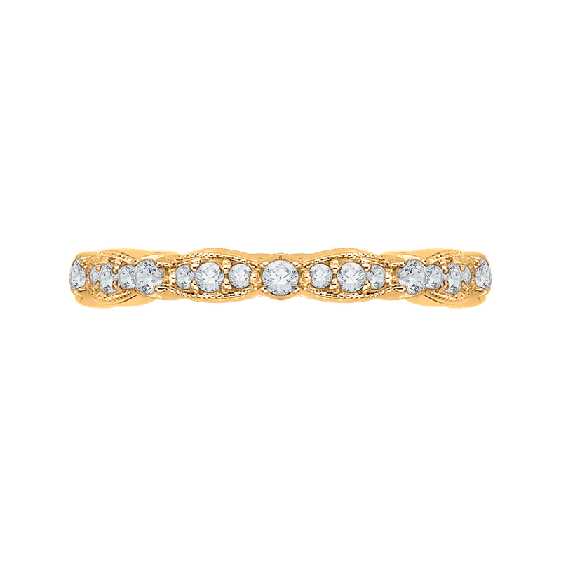 Carizza 18K Yellow Gold Carizza  Wedding Band