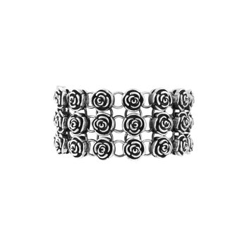 Rose Chainmail Bracelet