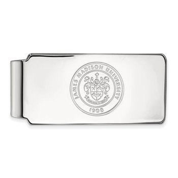 Gold James Madison University NCAA Money Clip