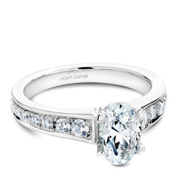 Noam Carver Fancy Engagement Ring B006-04A