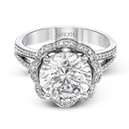 Simon G MR2724 ENGAGEMENT RING