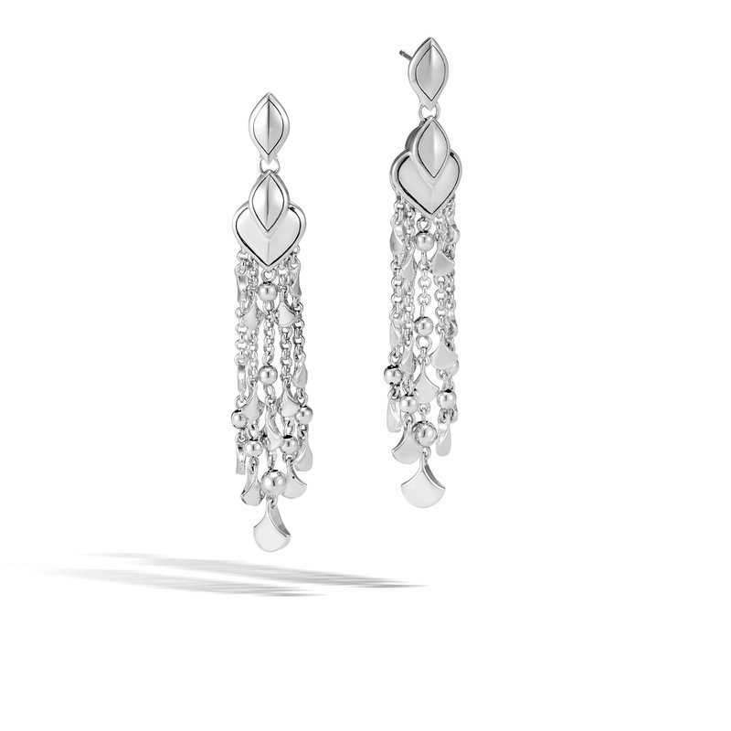 JOHN HARDY Legends Naga Chandelier Earring in Silver