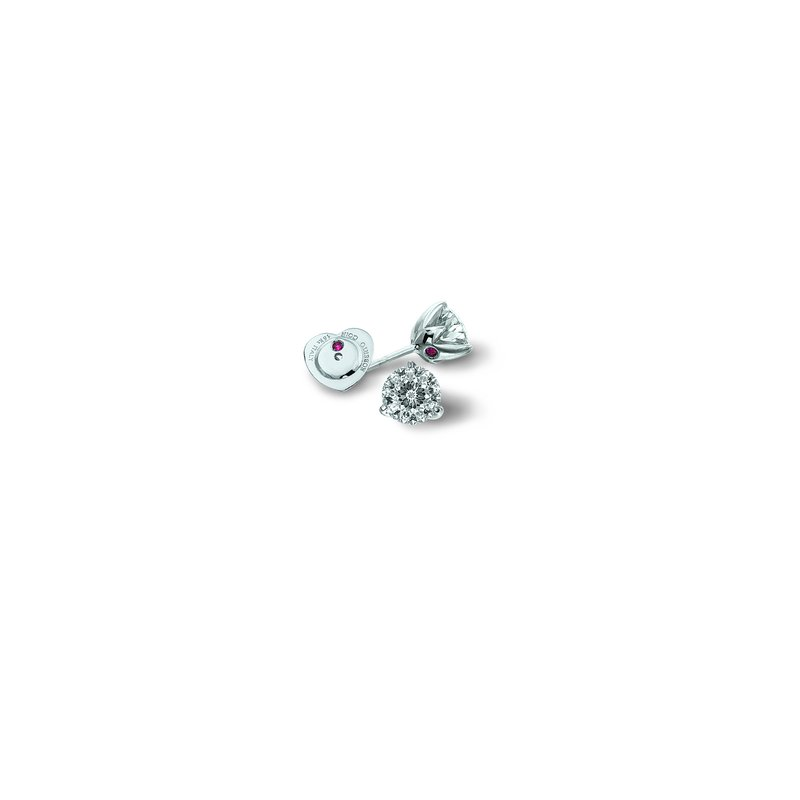 Roberto Coin Cento Tulip Stud Earrings
