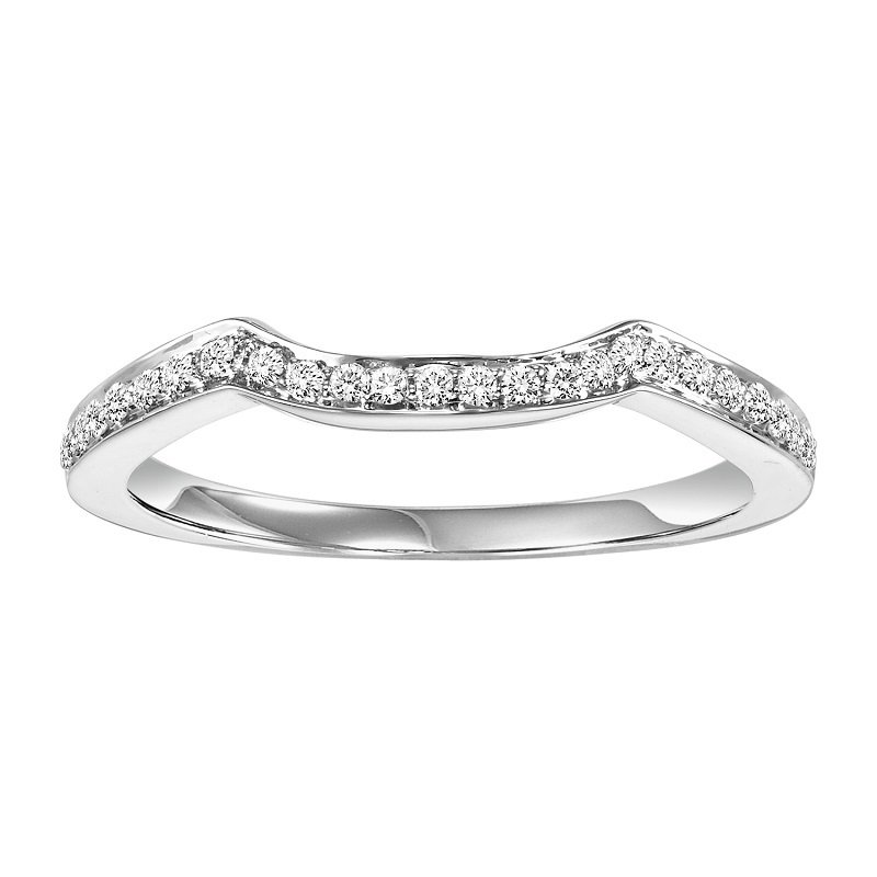Bridal Bells 14K Diamond Band 1/8 ctw