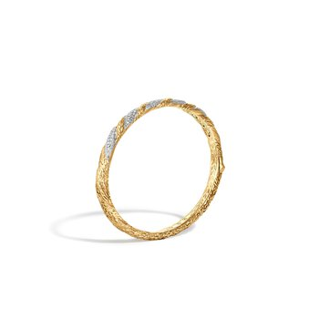 Classic Chain Hinged Bangle
