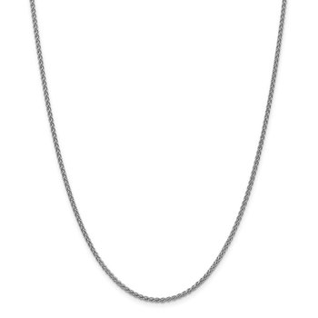 14k WG 2mm Spiga Chain