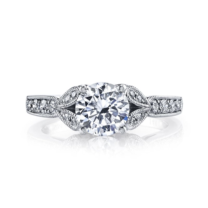 MARS Jewelry MARS 26700 Diamond Engagement Ring 0.28 Ctw.