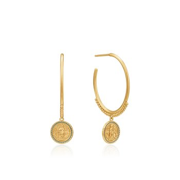 Emperor Hoop Earrings