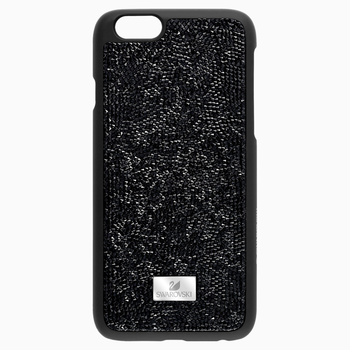 Glam Rock Black Smartphone Case with Bumper, iPhone® 7