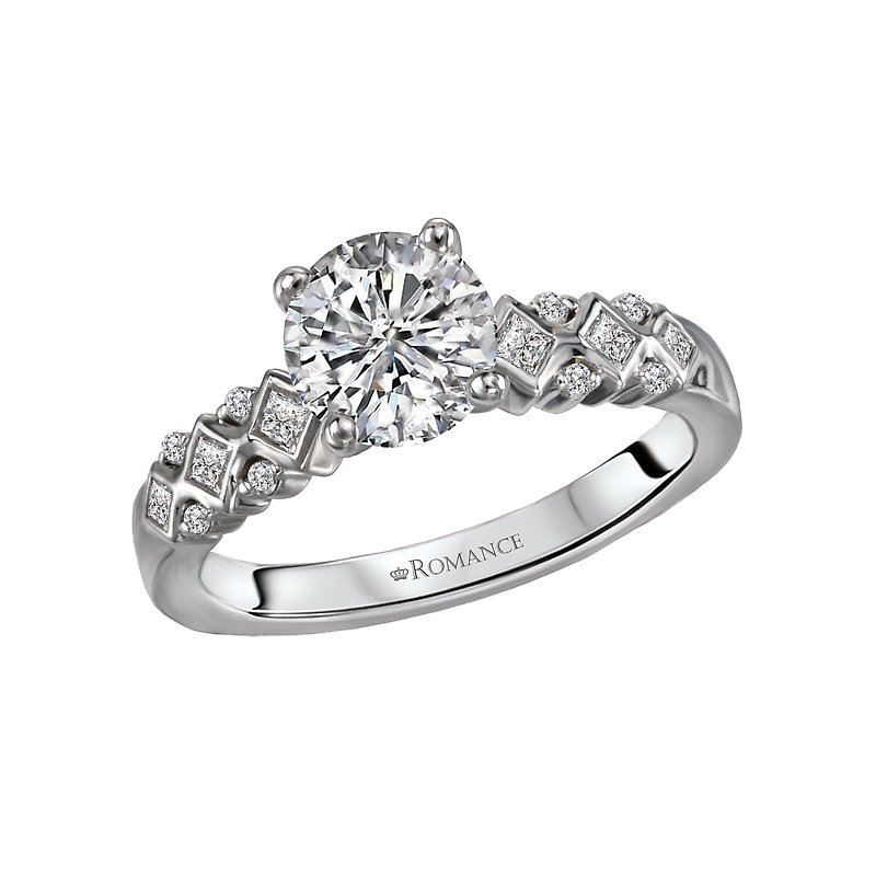 Romance Semi-Mount Diamond Ring
