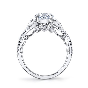 MARS 25737 Diamond Engagement Ring 0.33 ct tw