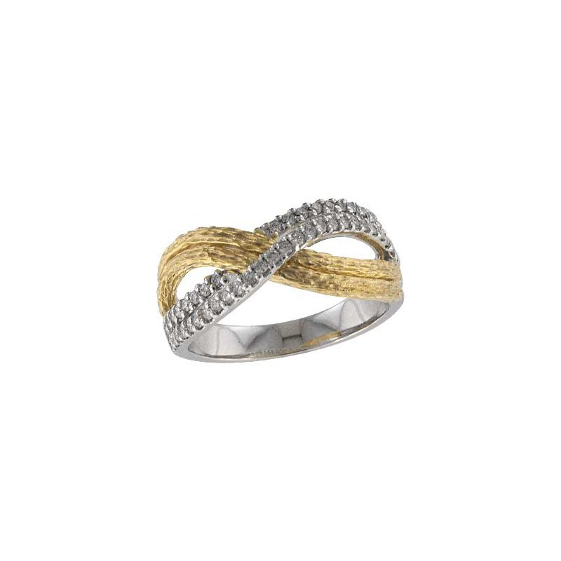 Allison-Kaufman 14KT Gold Ladies Wedding Ring