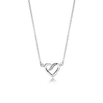 Ribbons of Love, Clear CZ