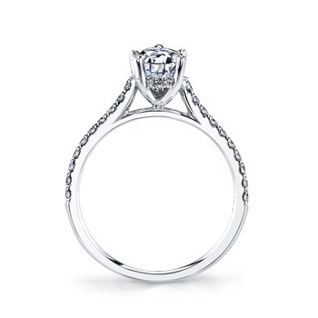 MARS 27039PE Engagement Ring 0.25 Ctw.