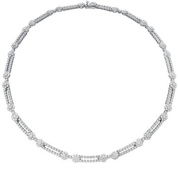 11.8 ctw. Beloved Double Link Necklace