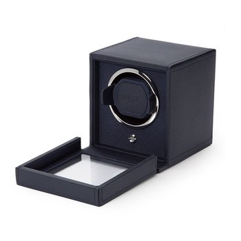 Cub Winder With Cover, navy leather