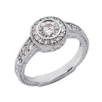White Gold Engagament Ring