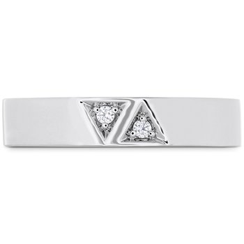 0.03 ctw. Triplicity Triangle Double Diam Band 4mm