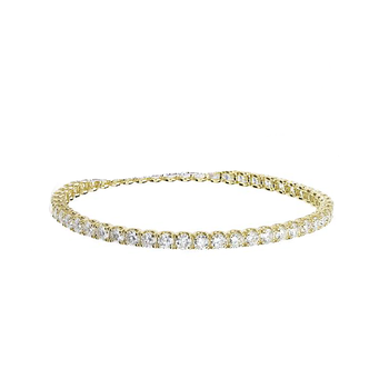 #25636 Of 18Kt Gold Diamond Bracelet