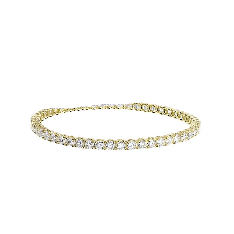 Roberto Coin  #25636 Of 18Kt Gold Diamond Bracelet