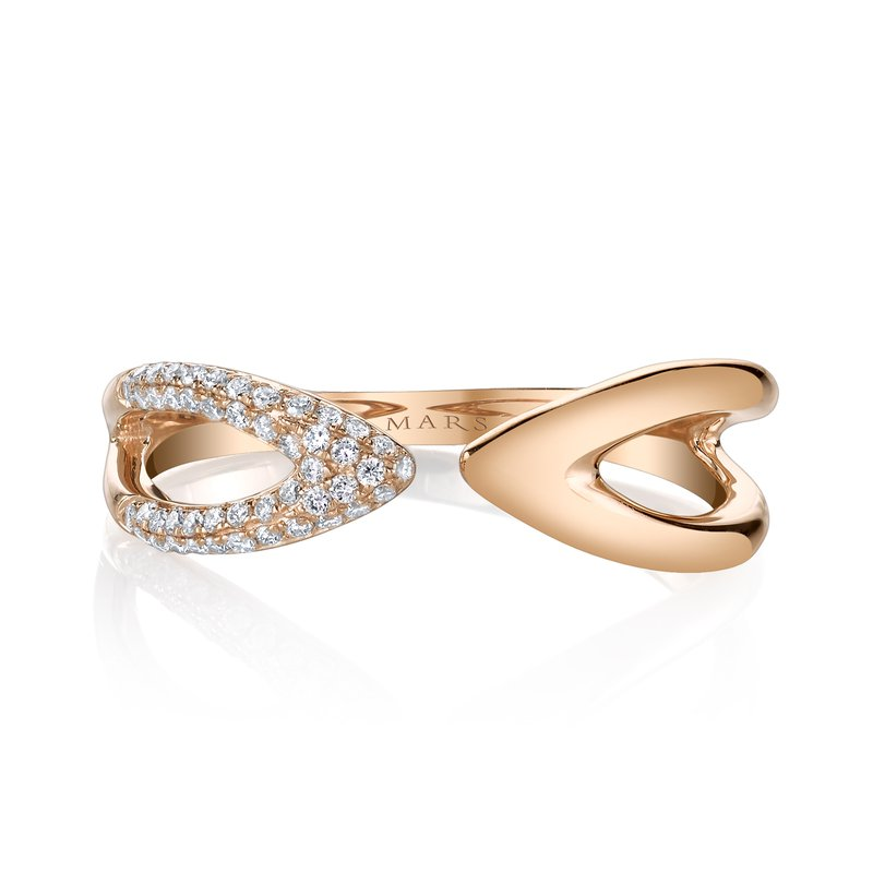 MARS Jewelry MARS 26807 Fashion Ring, 0.14 Ctw.