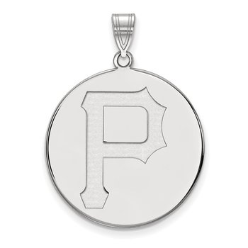 Gold Pittsburgh Pirates MLB Pendant