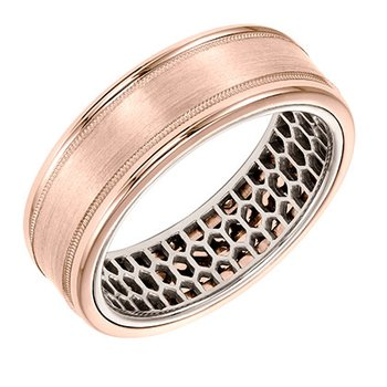 Round Edge Wedding Band