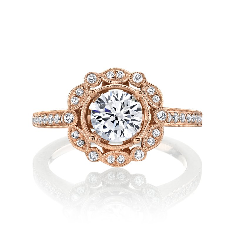 MARS Jewelry MARS 27093 Engagement Ring, 0.20 Ctw.