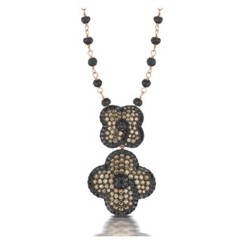 Mocha Mosaic Necklace