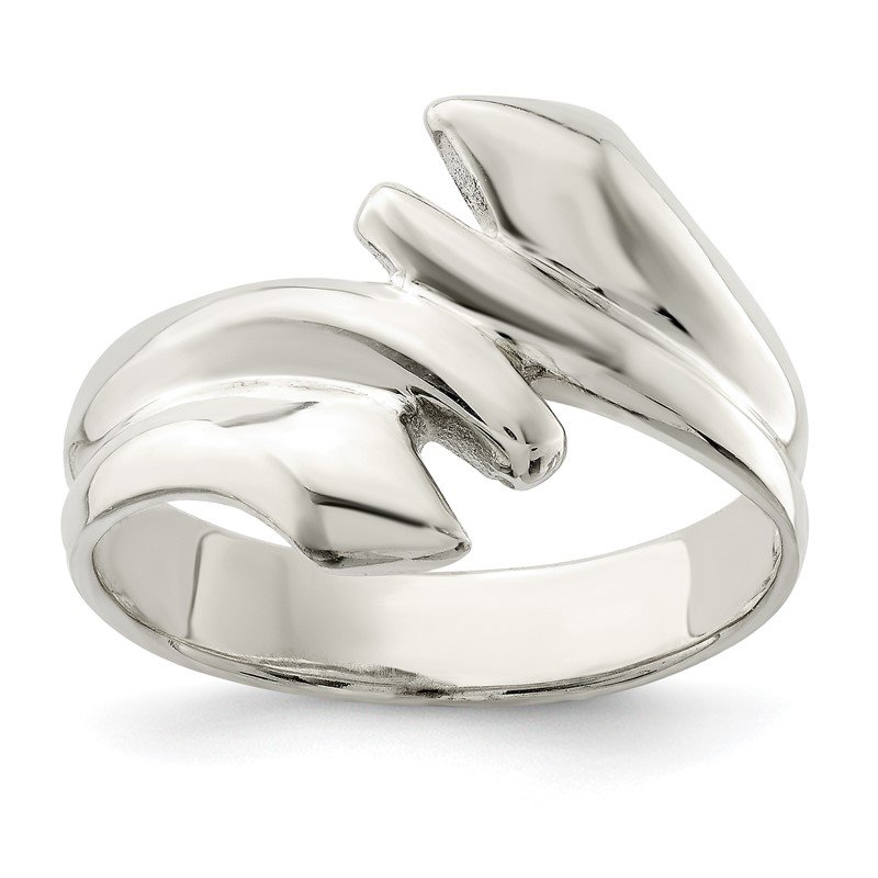 Quality Gold Sterling Silver Polished Fancy Ring